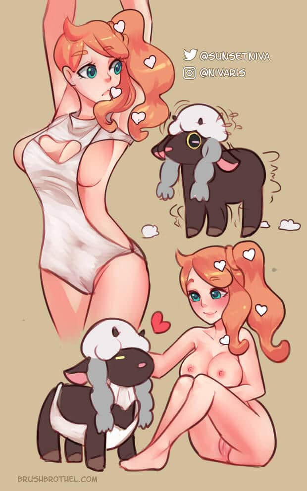 Pokemon girls shortcomic Sonia