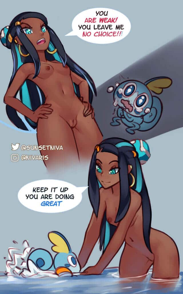 Pokemon girls shortcomic Nessa